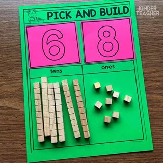 Math Centers for the Beginning of the Year (FREEBIE included!) - A Kinderteacher Life