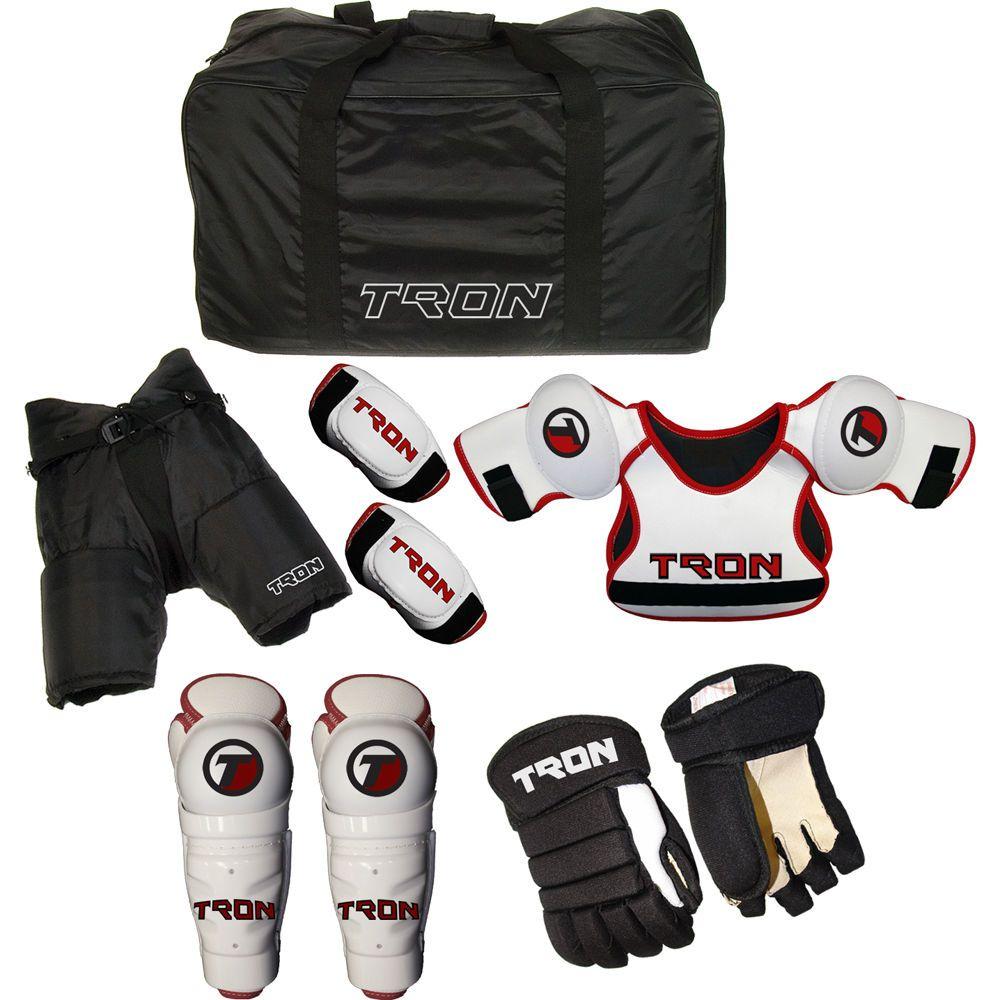 Tron Youth Hockey Protective Kit Starter Set Kids Equipment Package Youth Hockey Hockey Fun Sports