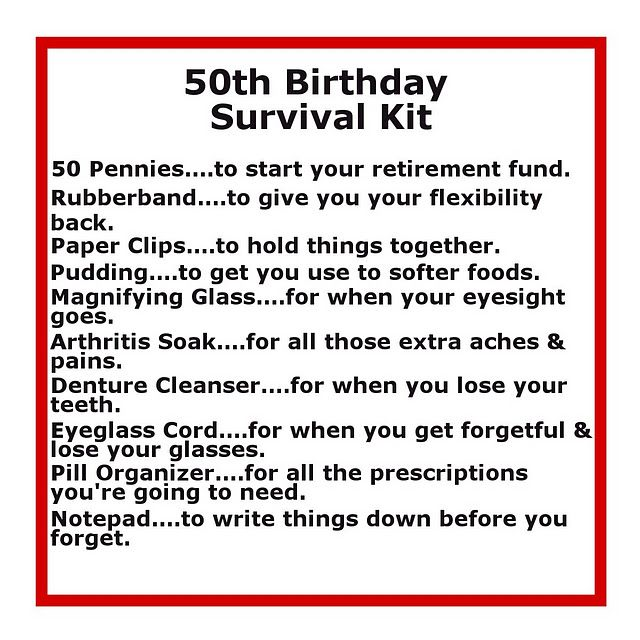 Survival Kits With Cute Sayings