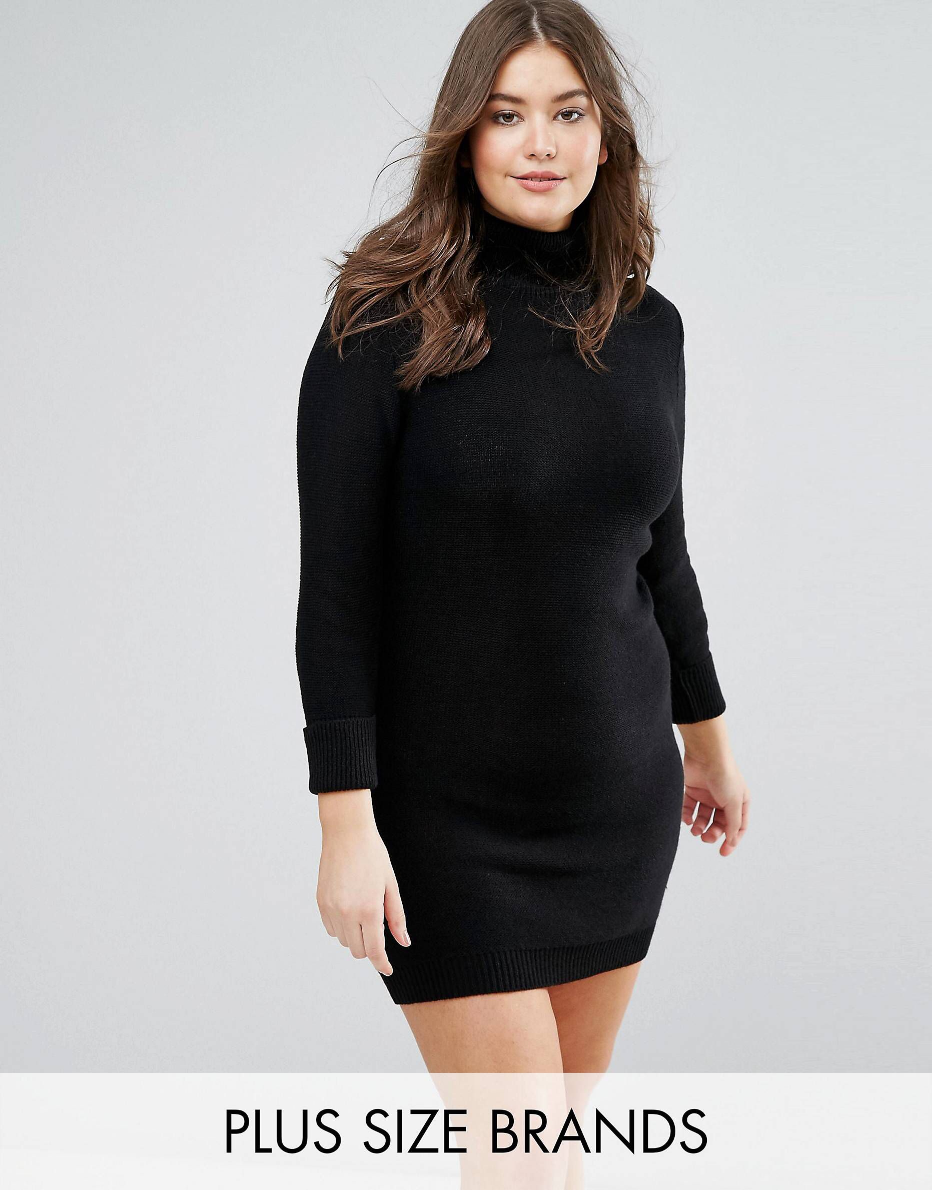 LOVE this from ASOS! Polo neck jumper dress, Jumper