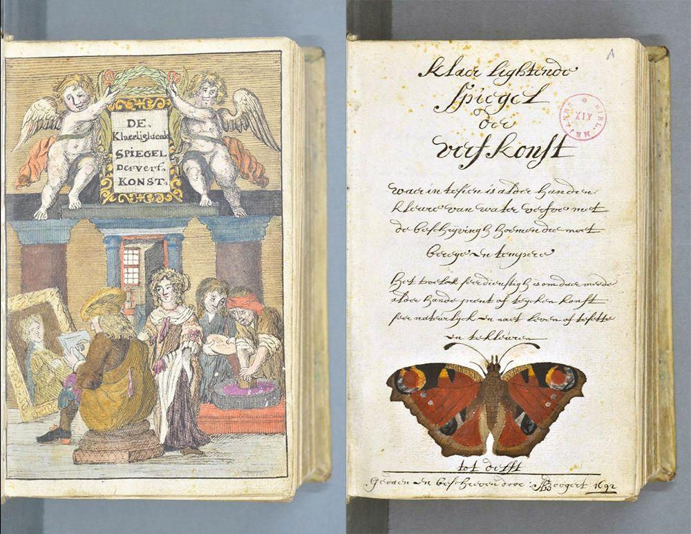 271 años antes del Pantone, un artista mezcló y describió todos los colores imaginables en un libro de 800 páginas | Upsocl