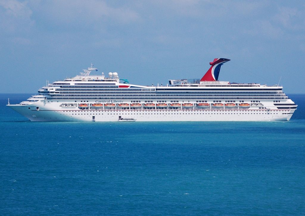 Carnival Valor Becomes Latest Ship To Receive Upgrades Carnival - Valor cruise ship
