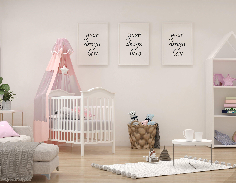 Frame Mockup, Frame MockUp, Simple Mockup, Kid room