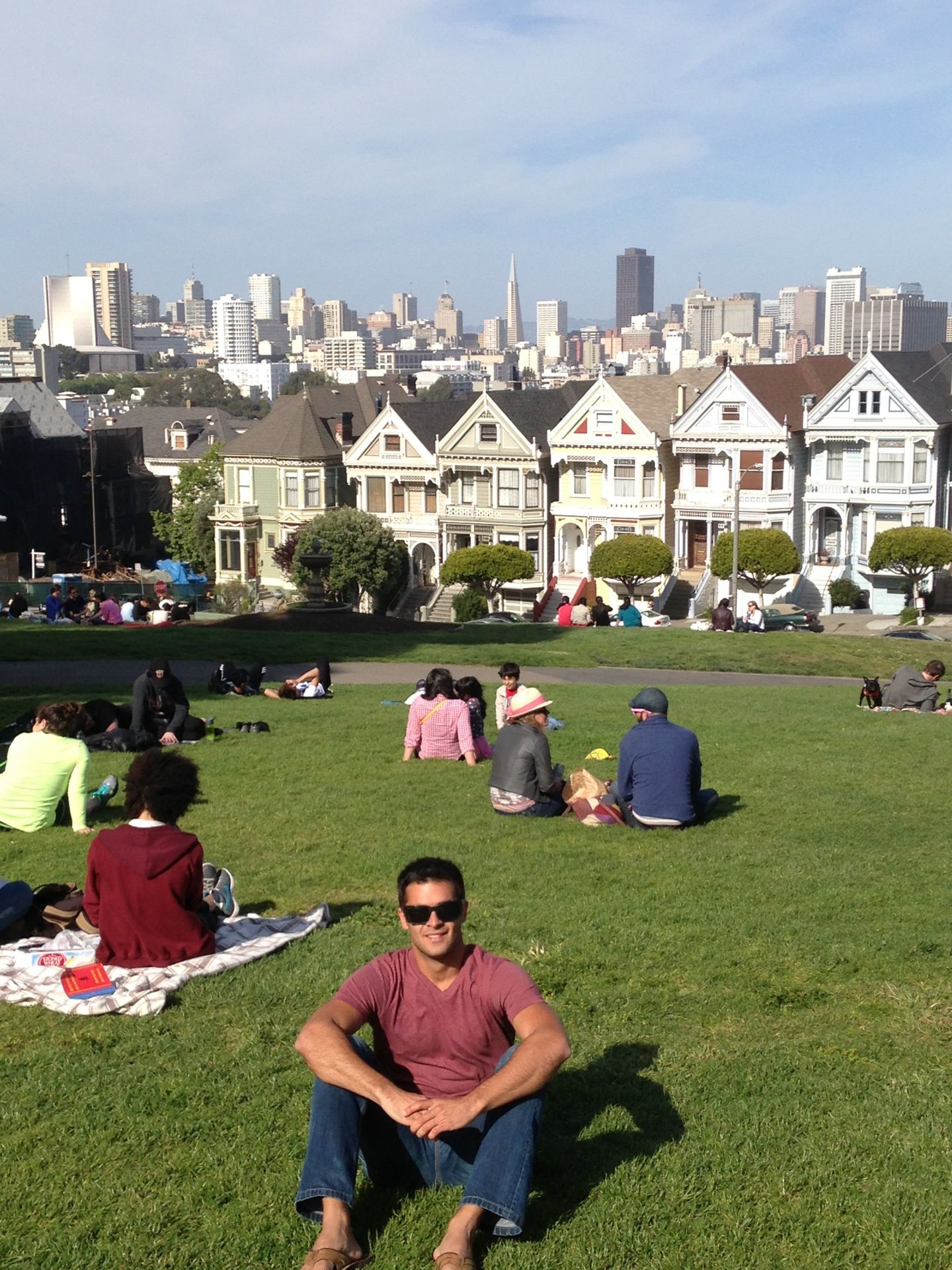 Alamo Square Sunday Funday Pinterest Awesome America And San