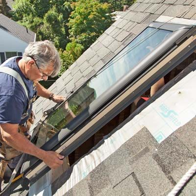 How To Install A Skylight Skylight Roof Window Green Roof