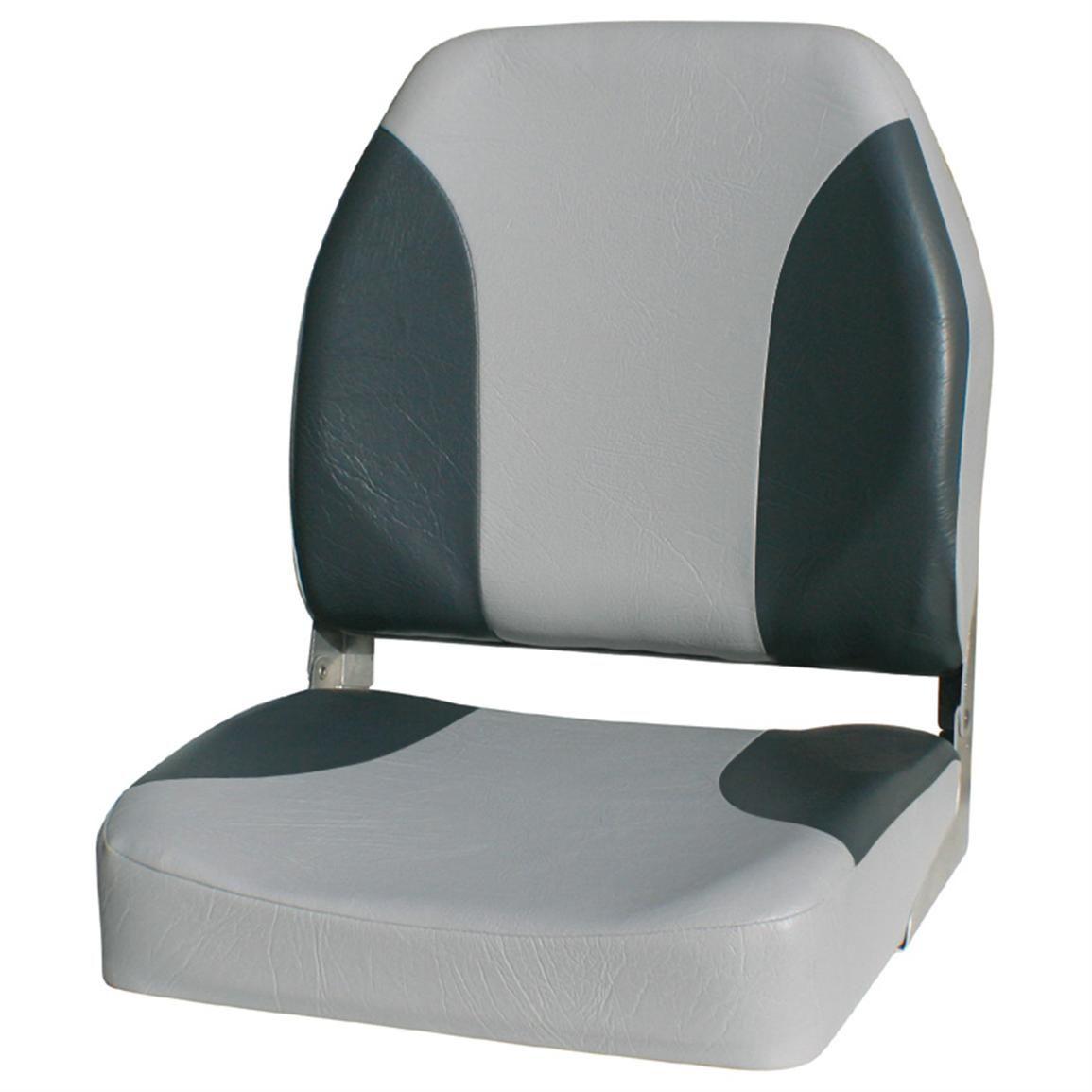 Wise Premium Big Man Fishing Boat Seat Grey Charcoal Fishing Boat Seats Boat Seats Fish Man