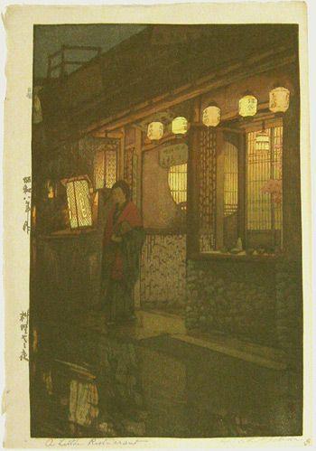 Japanese Art by the artist Hiroshi Yoshida | Scriptum Inc