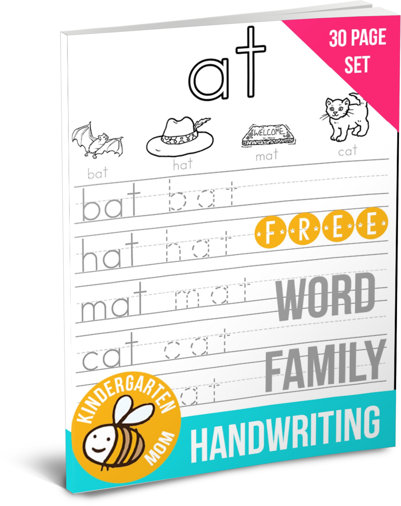 Word Family Handwriting - | Kind