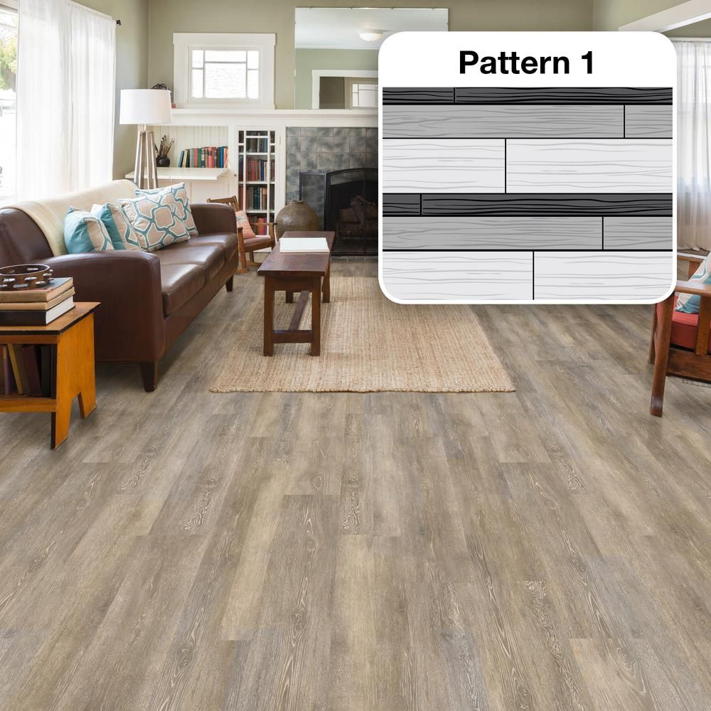 Lifeproof Radiant Oak Multi Width X 47 6 In L Luxury Vinyl Plank Flooring 19 53 Sq Ft Case I127918l The Home Depot Luxury Vinyl Plank Flooring Vinyl Plank Luxury Vinyl Plank