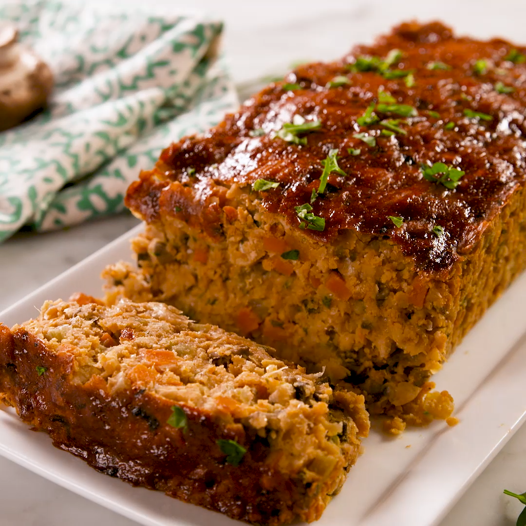 Best-Ever Vegan Meatloaf This hearty