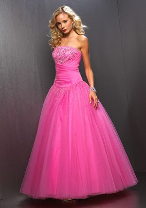 pretty pink prom dresses | Dresses | Pinterest | Prom, Formal and ...
