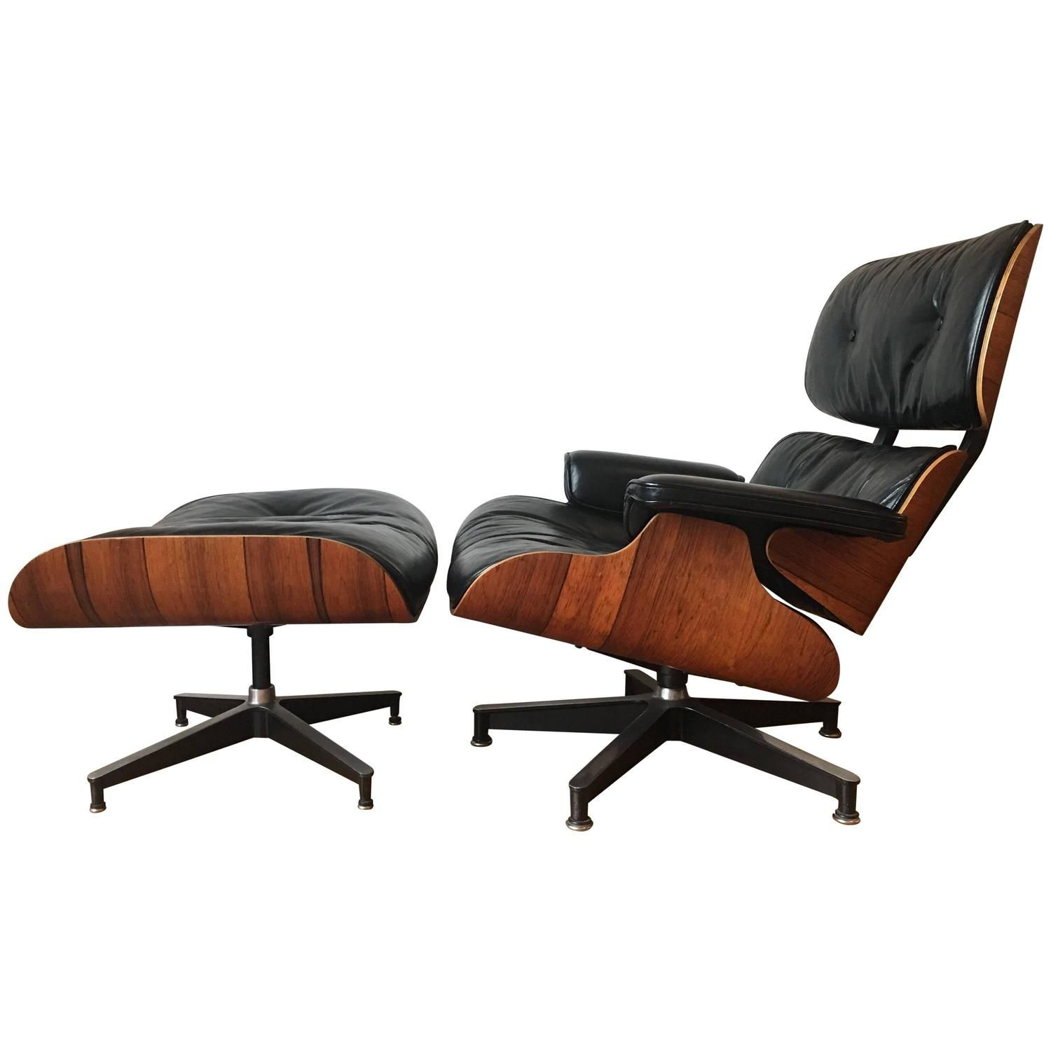 Near Mint Condition 1960s Herman Miller Eames Lounge Chair And Ottoman Eames Lounge Eames Lounge Chair Lounge Chair