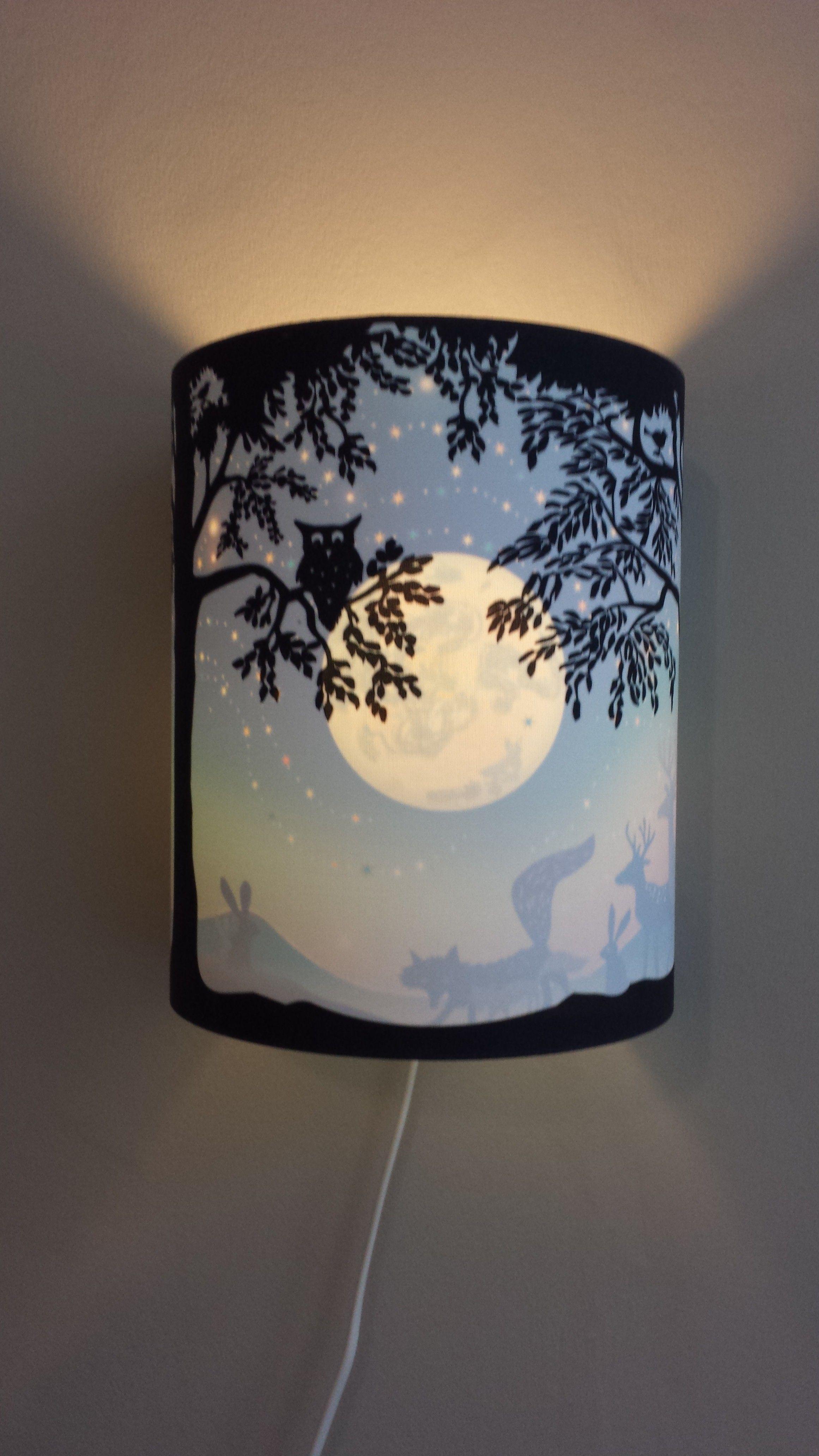 Awesome Hartendief wandlampje Moonlight
