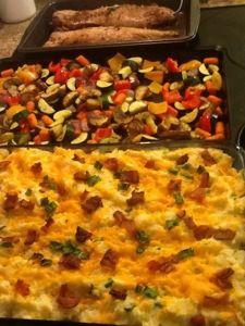 make ahead meal for company