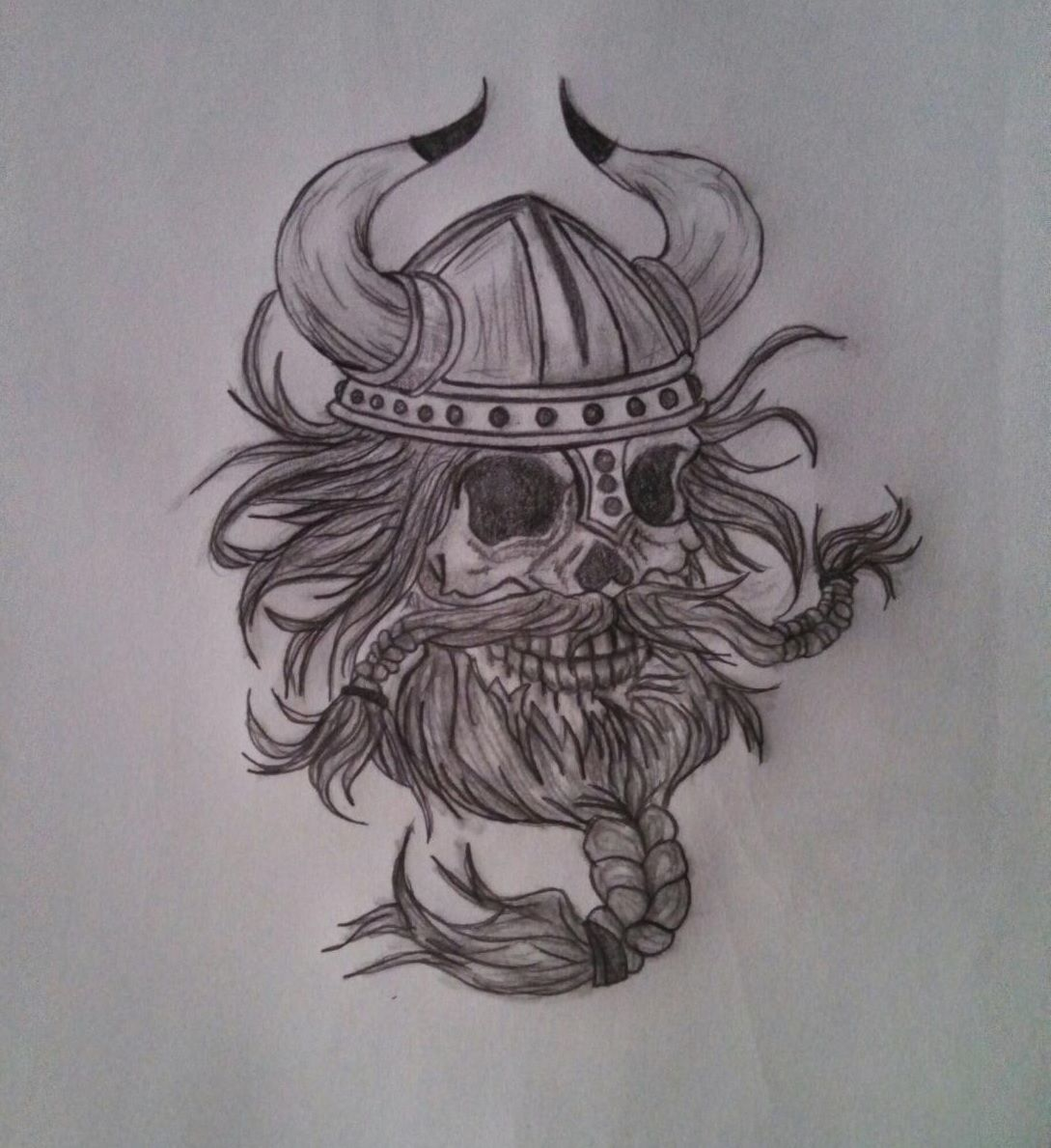 Drew this for my brother. Tattoo idea.