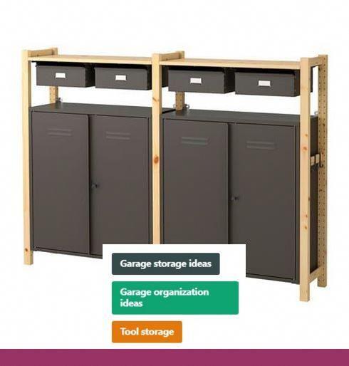 Diy Garage Cabinets With Sliding Doors Garage Storage Solutions