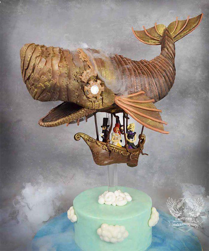 40+ de las tartas más originales y creativas que hemos visto hasta ahora