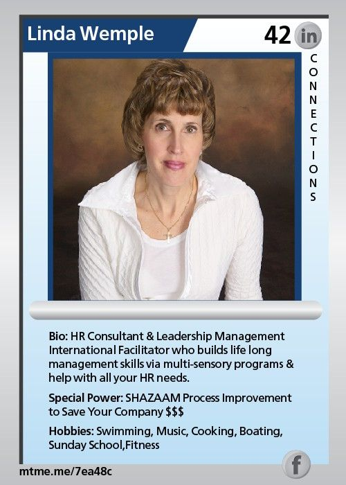 HR Consultant & Leadership Management International Facilitator who builds life long management skills via multi-sensory programs & help with all your HR needs.