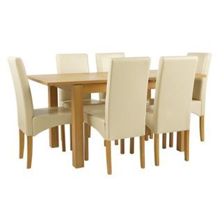buy collection swanbourne extendable table and 6 cream chairs at rh pinterest com