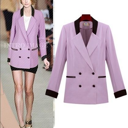 outerwear-fashion-blazer-double-breasted-slim-purple-outerwear ...