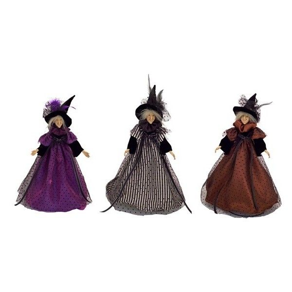 Melrose Gifts U0027Witch Sisteru0027 Figurines ($100) ❤ Liked On Polyvore Featuring  Home