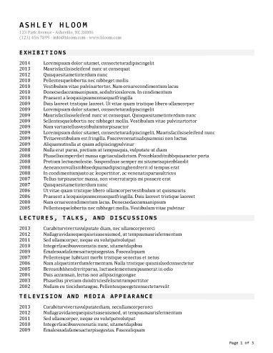 Classic Resume Template Headliner's List Resume Template  Resume Templates And Samples