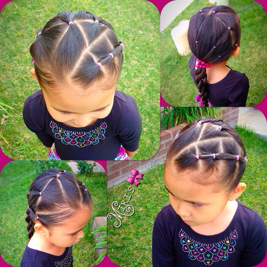 Hair style for little girls hair pinterest hair style girls