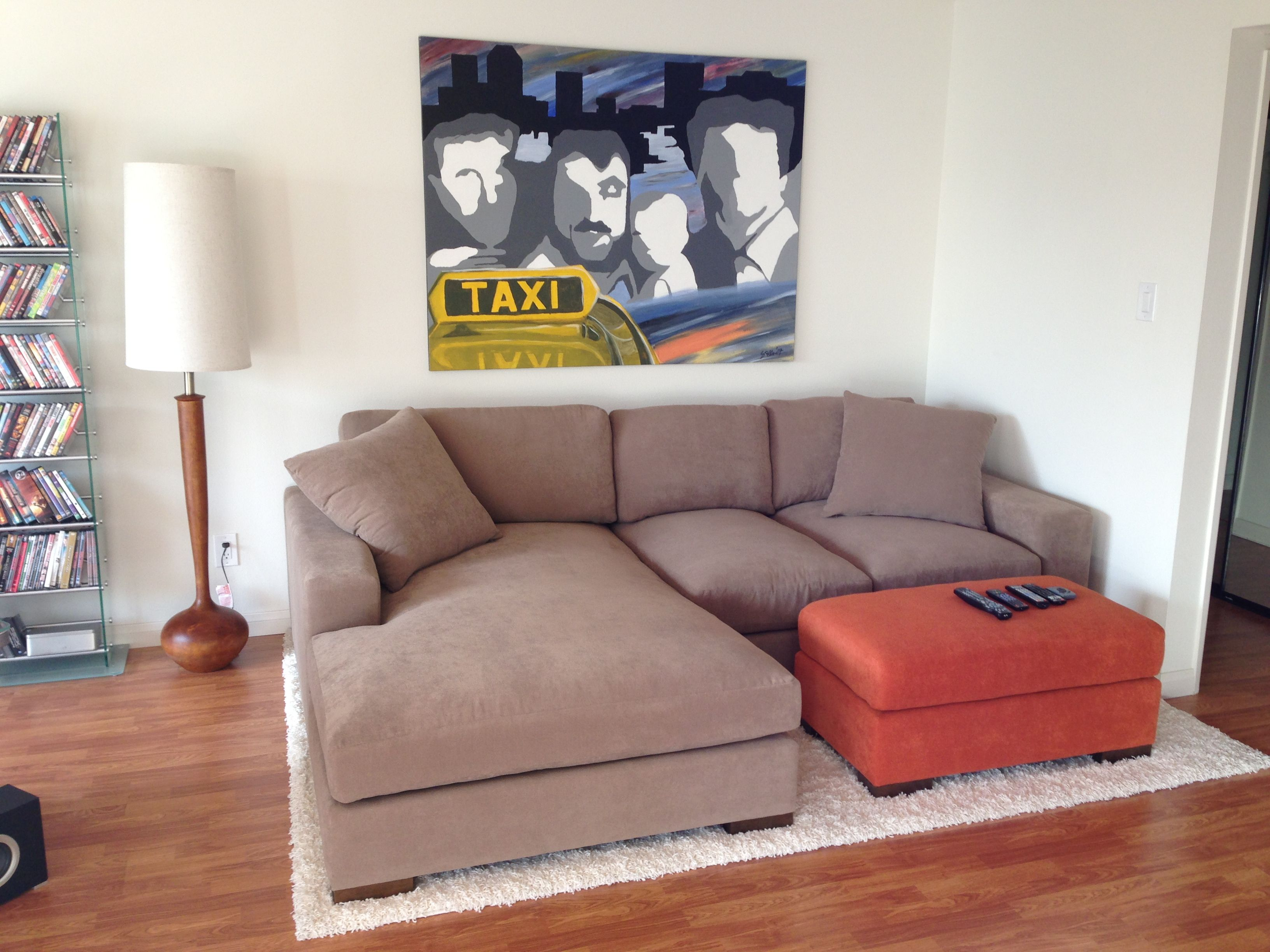 Brown Apartment Sectional. Design Your Own Custom Apartment Sofa At The  Sofa Company. Www