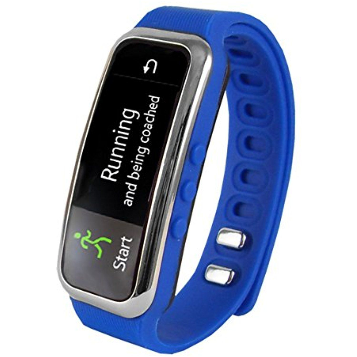 Supersonic 0.91 Fitness Wristband With Bluetooth Pedometer