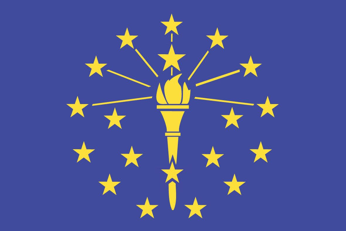 Indiana State Flag Indiana Flag Indiana State Flag Indiana State