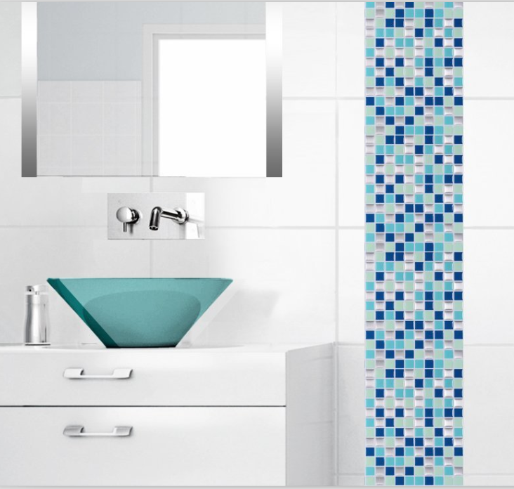 Decorative Tiling Bathroom Tile Stickers Stone Mosaic Unique Home Decor  Tile