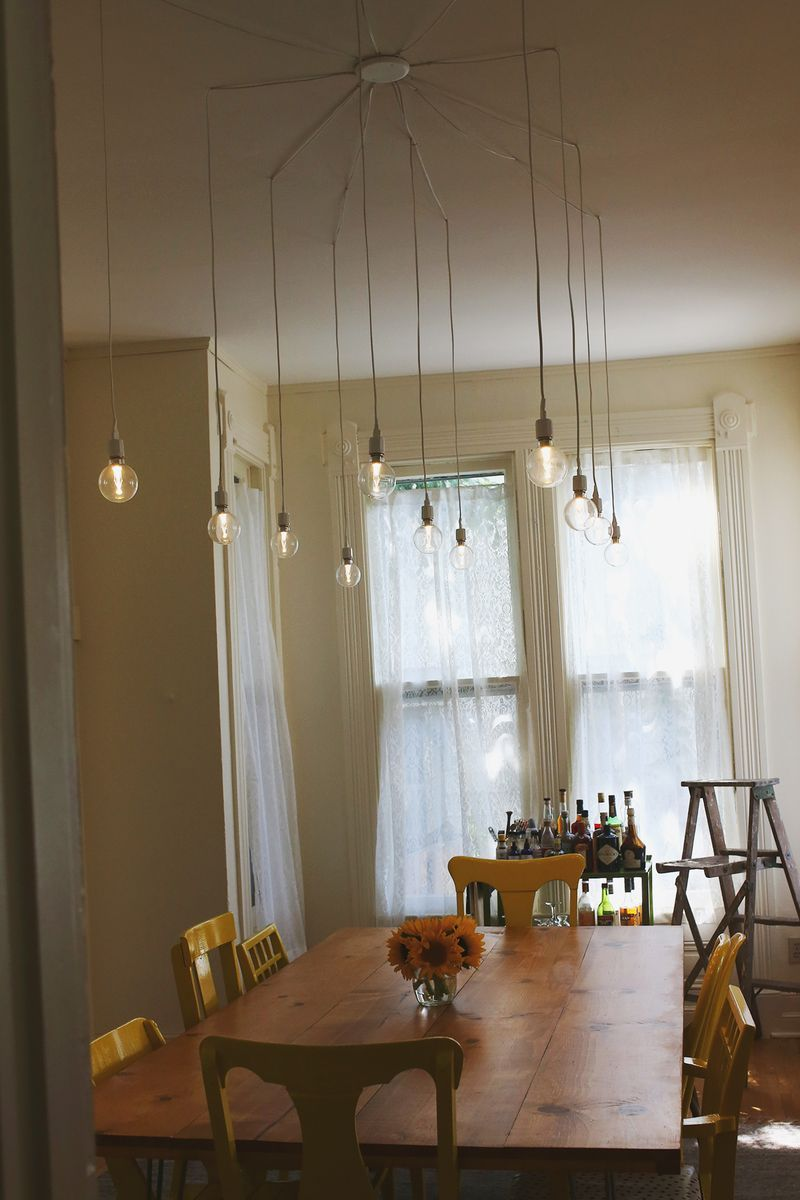 My Dream Light Fixture And It's Diy  Diy  Pinterest  Lights Pleasing Hanging Dining Room Lights Decorating Design