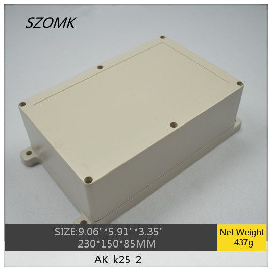 1 Piece Ip65 Wall Mounting Waterproof Plastic Enclosure Box For Electronic Electrical Equipment Supplies 230 Waterproofing Plastic Storage Electrical Equipment