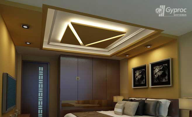False ceiling drywall saint gobain gyproc india pop for Drywall designs living room