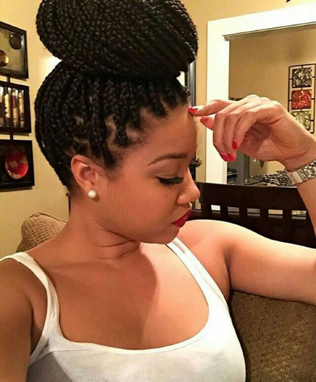 Cute Box Braids Hair Styles Box Braids Hairstyles Braid Styles