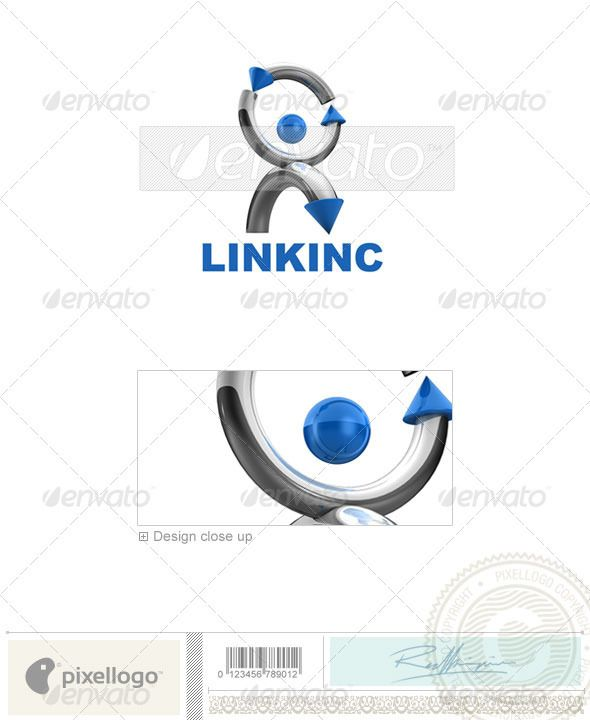 Communications Logo - 3D-570
