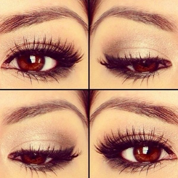 Make Up For Brown Eyes Diy Eye Makeup Makeup Pinterest Brown