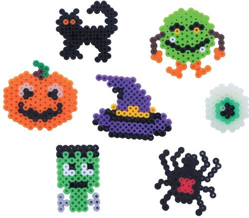 perler spooky owl fused bead kit