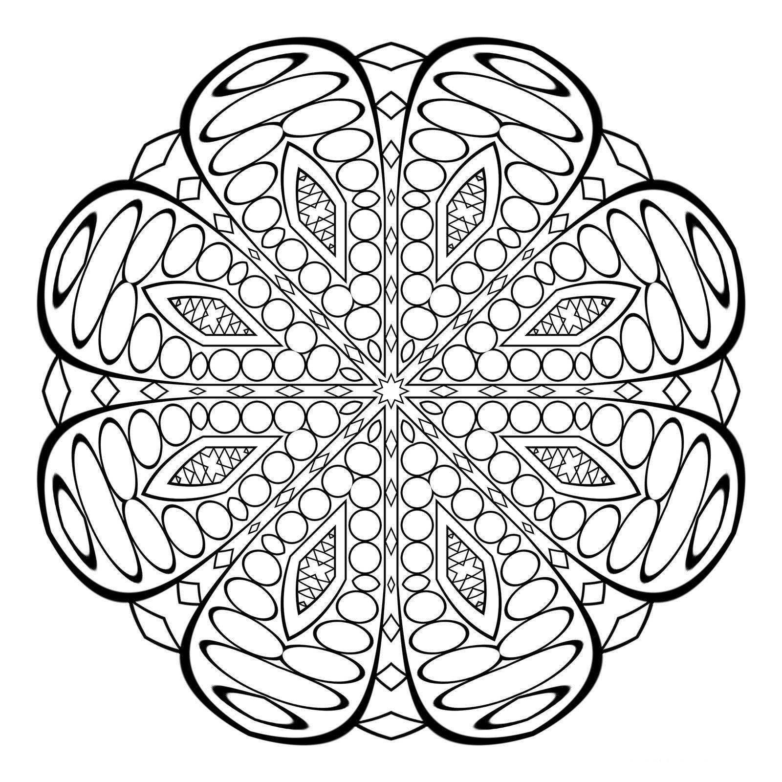 Mandalas Muy Dificiles Para Imprimir Y Colorear Acepta El Super Reto Mandalas Paginas Para Colorear De Hadas Mandala Budista