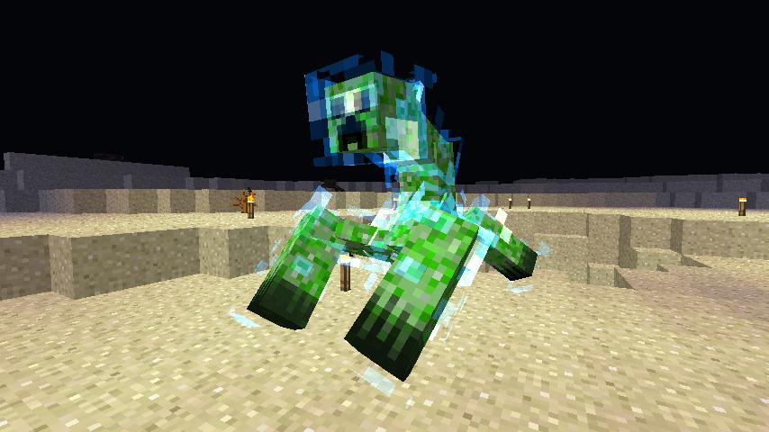 Mutant Super Charged Creeper Ahhhhh Minecraft Mods Minecraft Mutant