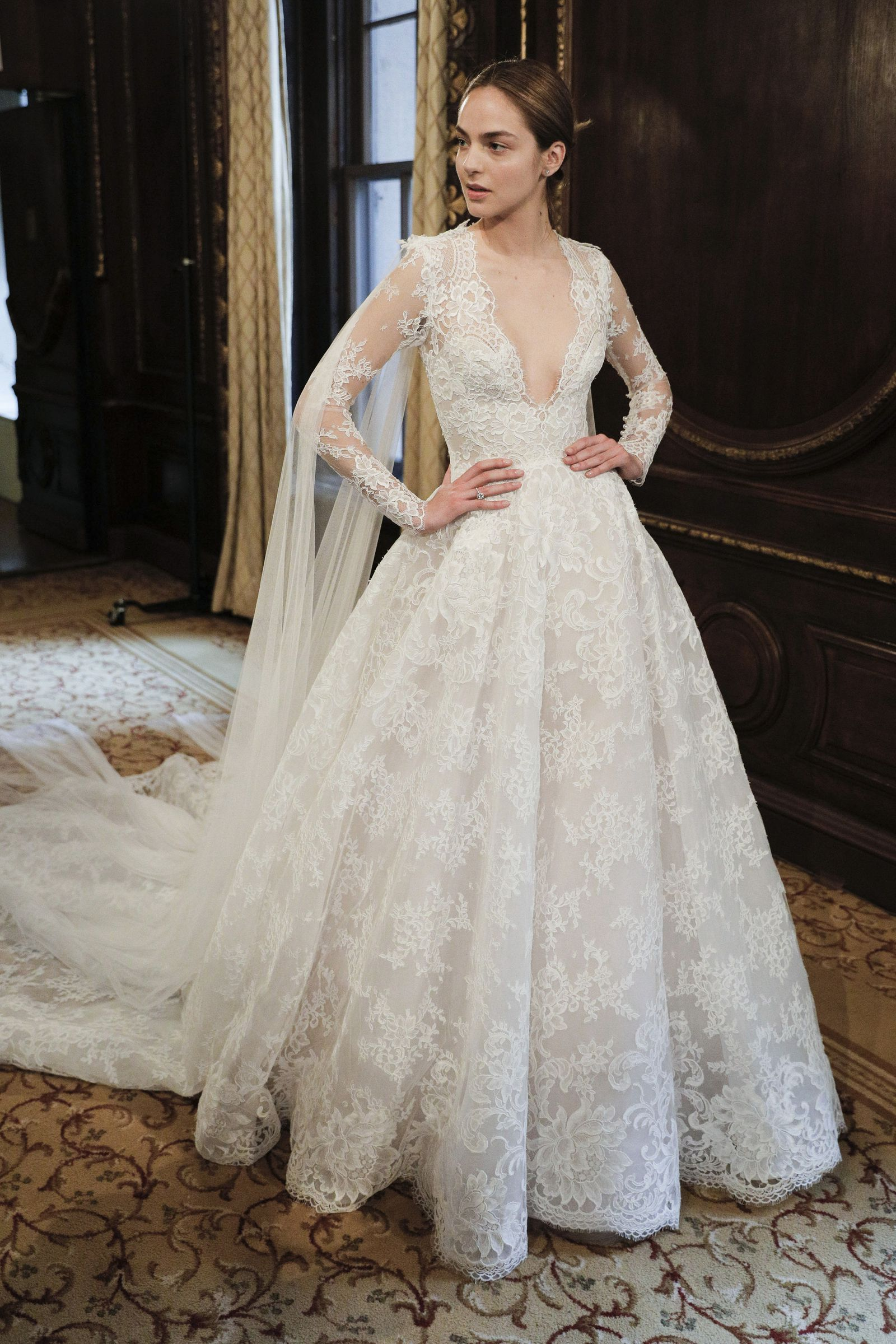 Make Like A Royal These Are The Best Long Sleeve Wedding Dresses To Shop Now Wedding Dress Long Sleeve Wedding Dresses Bridal Dresses