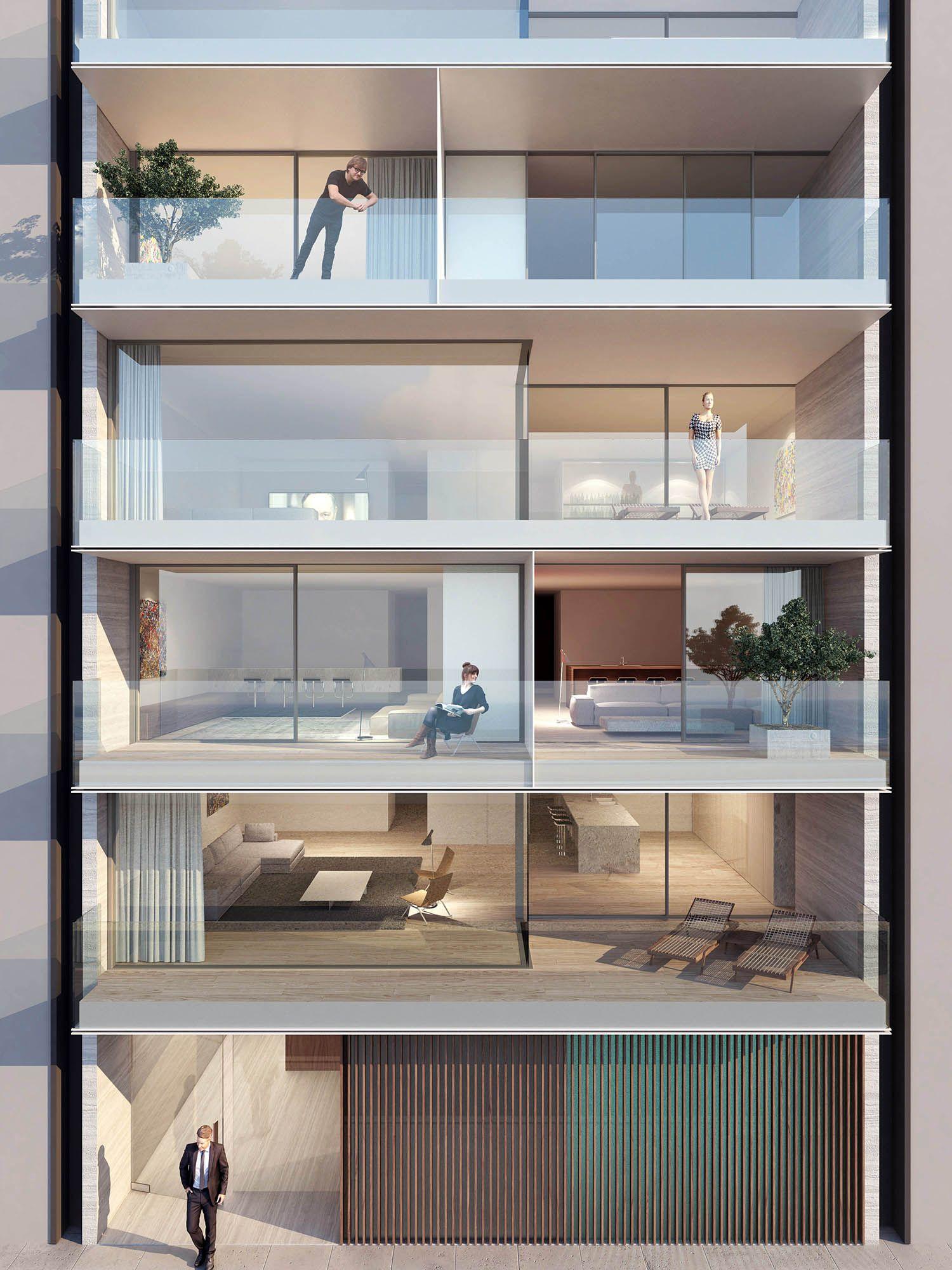 Golden Ratio House Design multiresidential golden ratio gent vlaanderenstraat // abs