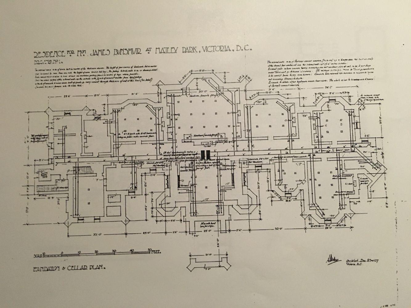 Hatley castle basement gilded age mansions pinterest for Chateau blueprints