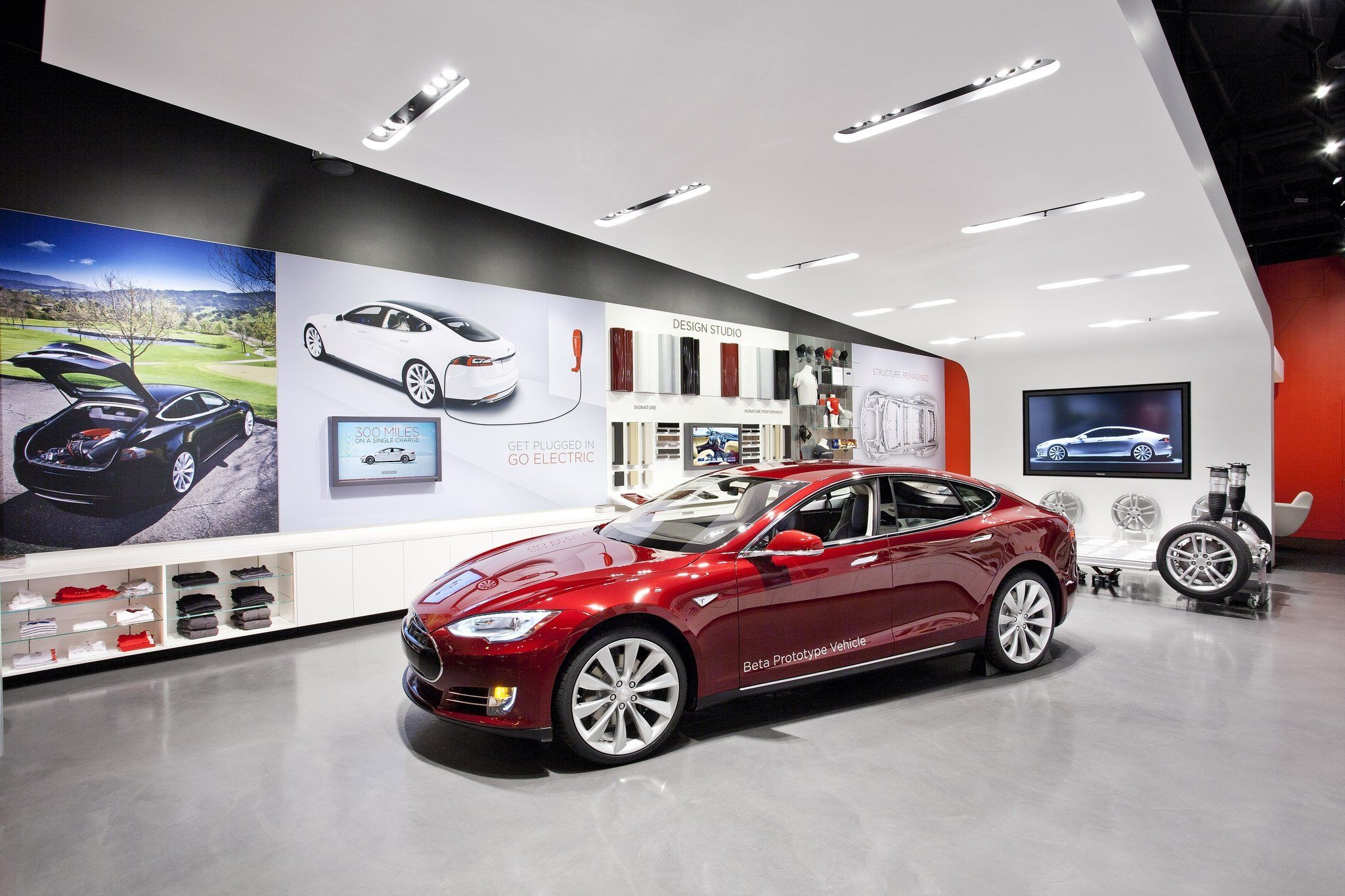 Tesla Mall Store  Google Search