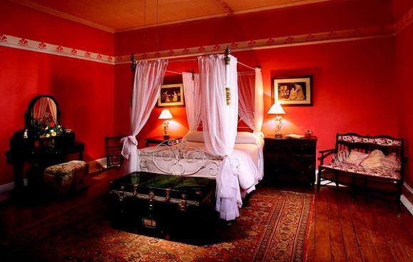 Romantic bedroom design impression in the bedroom when we were ...
