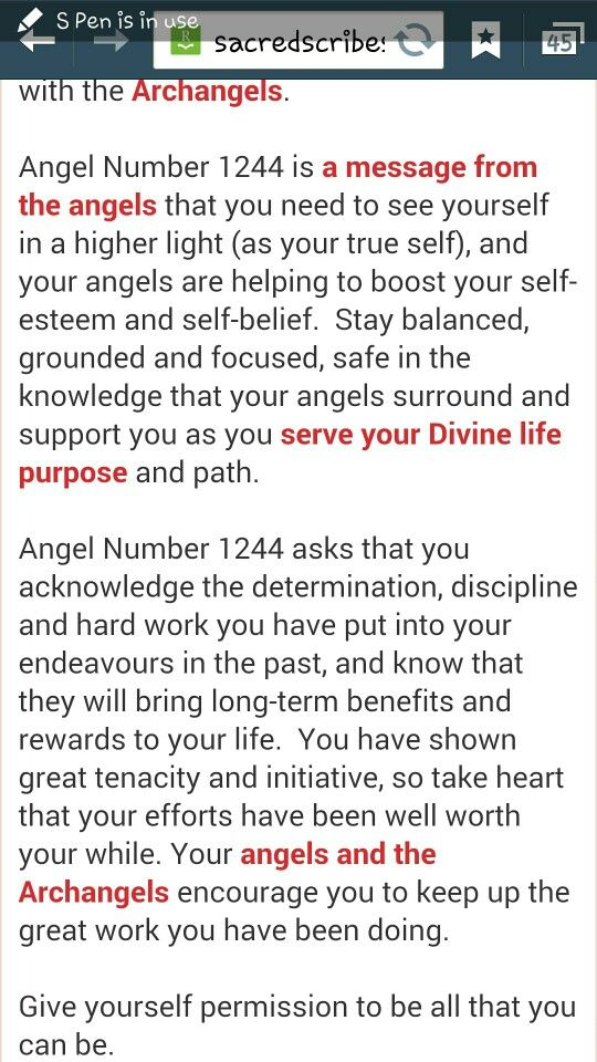 Angel Number 1244 Be All That I Can Be Numerology Numerology