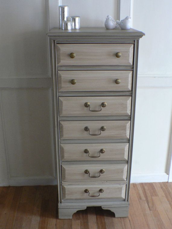 Sweet Colonial Cottage Style Dresser Bureau By