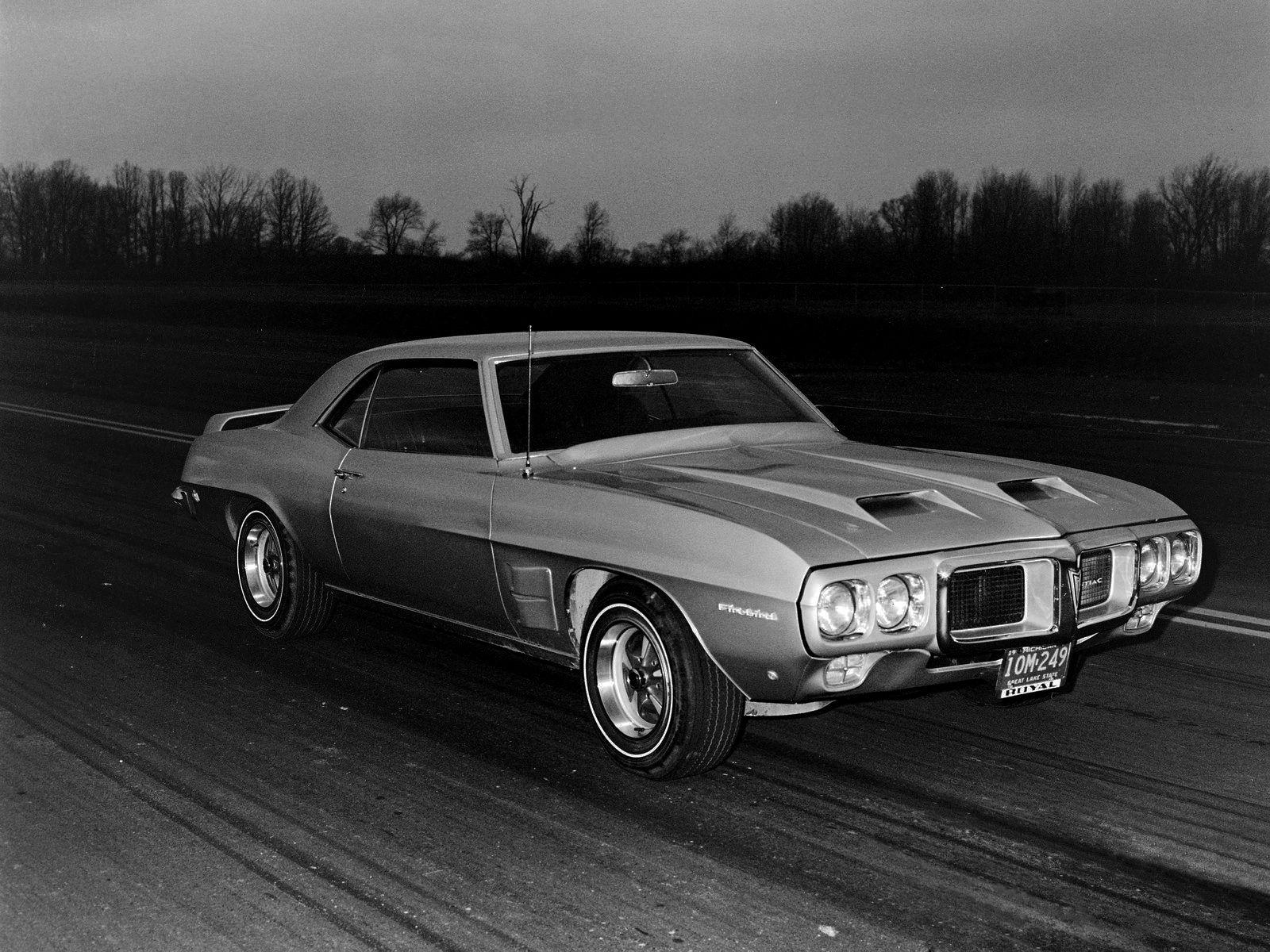 1969 pontiac firebird trans am prototype