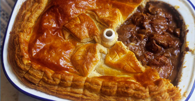 Traditional Scottish Steak Pie in 2020 | Steak and ale ...
