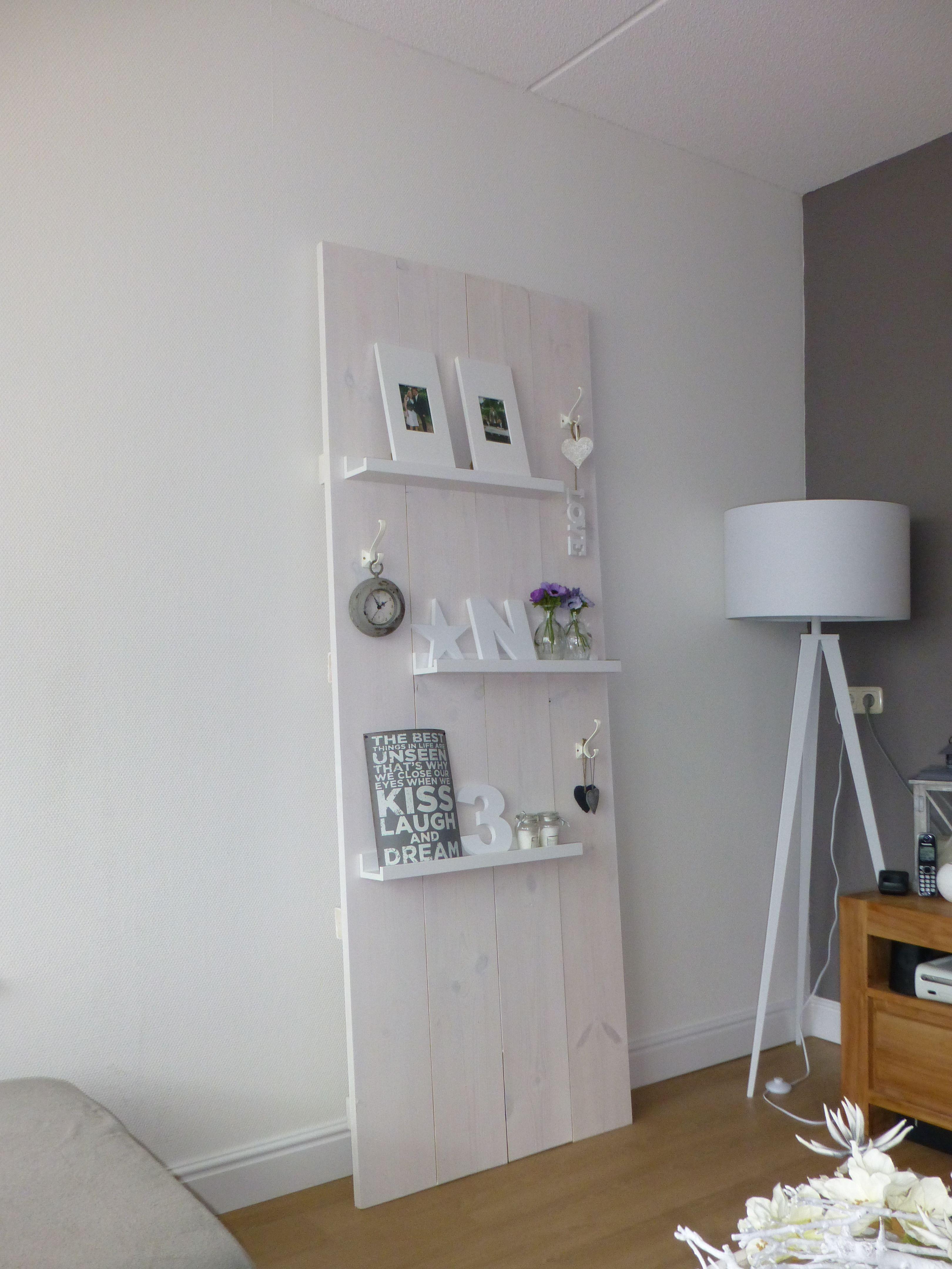 mooie wanddecoratie voor in de woonkamer zelf maken